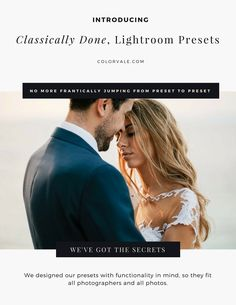 Classically Done Lightroom Presets
