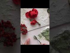 Работа в технике скульптурная живопись. Объемная живопись. Декоративная штукатурка.Sculpture paintin - YouTube Plaster Sculpture, Sculpture Painting, Rose Clay, Knife Art, Palette Knife Painting, Flower Crafts, Painting Techniques, Mixed Media Art, Color Mixing