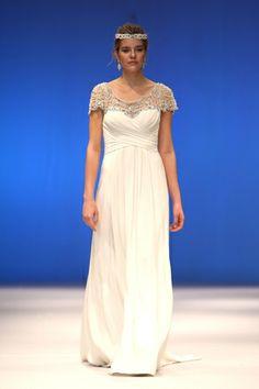 2014 Bridal Gown Trends: Beaded Illusion Necklines (martina liana wedding dresses)
