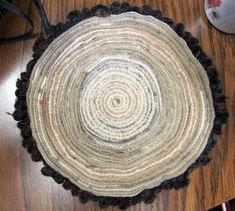 Beautiful Scraps: Standing Wool Rugs