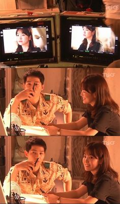 First Look at Song Joong Ki and Song Hye Kyo Together in Descendants of the Sun Filming Teaser Descendants Of The Sun Wallpaper, Song Joong Ki Birthday, Decendants Of The Sun, Song Joon Ki, Sun Song, A Werewolf Boy, Korean Drama Series, Songsong Couple, Kbs Drama