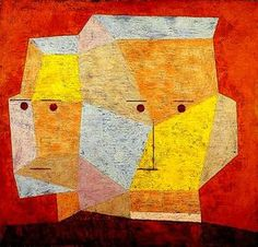Drzewo domow - Casas en los árboles - Houses in the trees 1932 Chlopiec u stolu 1932 Dwie glowy - Dos cabezas - Tw. Abstract Expressionism, Abstract Art, Abstract Paintings, Oil Paintings, Painting Art, Landscape Paintings, Paul Klee Art, Bauhaus, Art Abstrait