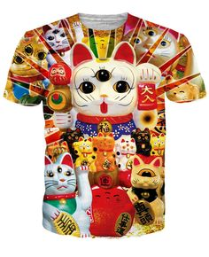 Lucky Cat T-Shirt *Ready to Ship*