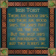 Irish toast - Friendship