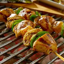 Tropical Chicken Skewers http://food.mamiverse.com/tropical-chicken-skewers-774/