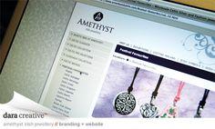 Amethyst 1 Graphic Design