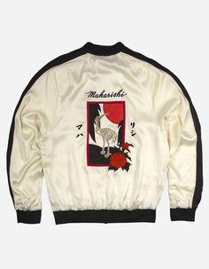 3315 HANAFUDA SOUVENIR JACKET Swag Outfits Men, Cool Outfits, Casual Outfits, Fashion Outfits, Hip Hop Fashion, High Fashion, Mens Fashion, Modern Kimono, Cool Jackets