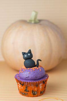 Objetivo: Cupcake Perfecto.: Cupcakes de Halloween... con dos tutoriales paso a paso ¡¡y receta!!