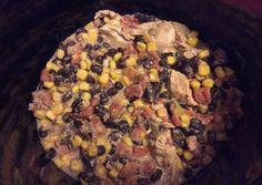 Crockpot Fiesta Chicken Recipe -  Very Tasty Food. Let's make it!