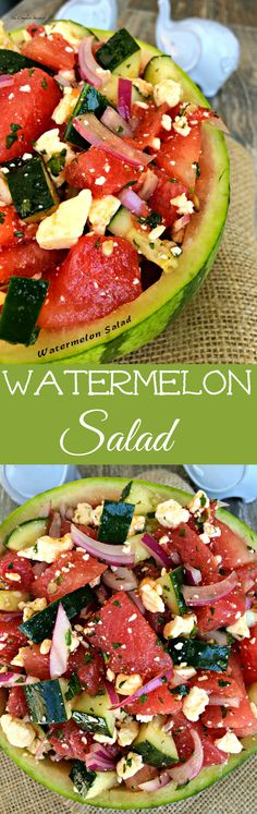 Watermelon Salad ~ The Complete Savorist