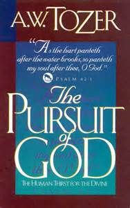 aj tozer the pursuit of God - - Yahoo Image Search Results