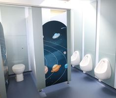 Robin Cubicles - Space Materials - Melamine Faced Board (MFC) Colours - Ice Blue and Quartz Glass