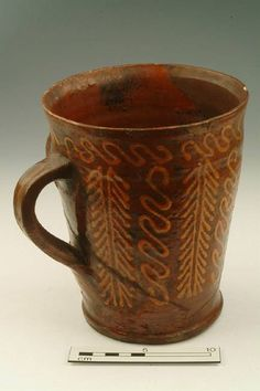 Fabulous mug dated 1650- 1700. From the Museum of London.