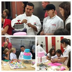 Buddy with our friends from Make a Wish! Cake Boss Buddy, Carlos Bakery, Buddy Valastro, Master Baker, Make A Wish, Good Movies, Cakes, My Favorite Things, Friends