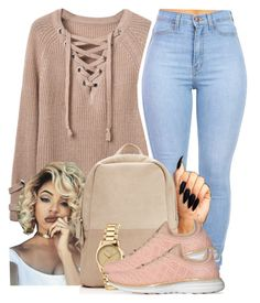 """Sem título #2182"" by isabellacarolina161 ❤ liked on Polyvore featuring WithChic, Gucci and Athletic Propulsion Labs"