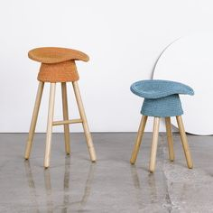 Coiled Counter Stool - A+R Store