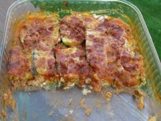 Zucchini Lasagna-made this for dinner the other eve.  It was okay but noone went crazy over it so doubt I'll make it again.