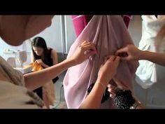 Easy Draping Skirt 01 - YouTube