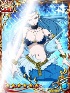 Fairy tail cards