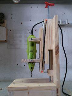 Build Your Own Drill Press Picture of Final details: Optional improvements