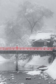 Snow day, Takayama, Gifu, Japan, by Jiratto, on flickr.