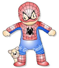 Digital+Digi+Spiderman++Andy+Stamp+by+PinkGemDesigns+on+Etsy