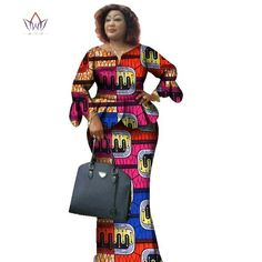 Image of Two Piece Set,African Women Print Plus Size African Women Clothes, Ruffles Petal Sleeve Crop Top and Skirt Sets African American Fashion, African Print Fashion, Africa Fashion, African Print Dresses, African Fashion Dresses, African Dress, African Outfits, African Clothes, African Attire