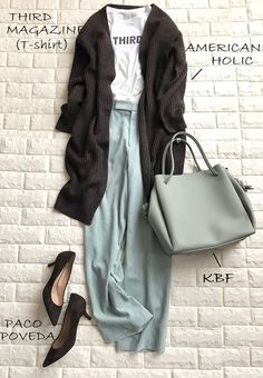 Maxi Outfits, Fashion Outfits, Womens Fashion, Fashion Tips, Olive Green Outfit, Spring Fashion, Winter Fashion, Modest Fashion Hijab, Japan Outfit