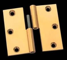 3.5 x 3.5 inch Left Lift-Off Square Door Hinge - Bright Solid Brass by The Renovators Supply. $21.00. Square, 3.5 x 3.5in. LOL Hinge Door Hinges, Doors, Home Hardware, Solid Brass, Bright, Detail, Doorway, Gate