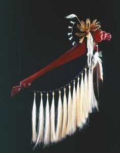 Image detail for -Horse Dance Stick, wood, feathers, horsehair, leather . Native American Regalia, Native American Beauty, Native American Artifacts, American Indian Art, Native American History, Horse Dance, Native American Pictures, Native Beadwork, Native Art