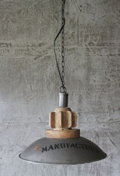 New H nge Lampe cm Alte Industrielampe Emaille Loftlampe Fabrik Deckenlampe DeckenlampeIndustriedesignWohnenIndustriellLive