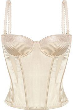 88fb66a314 Stella McCartney - Josephine Marrying satin corset. White CorsetBridal  LingerieLuxury ...