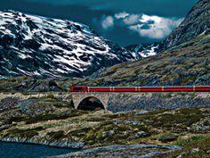 Bergen to Oslo Railway - Aurland, Sogn og Fjordane