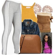 7/6/16 by lookatimani on Polyvore featuring American Eagle Outfitters, adidas, MICHAEL Michael Kors, Givenchy and UGG Australia