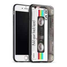 Vintage Retro Style Vintage Retro Audio cassette iPhone Case Cute Phone Cases Outfit Accessories From Touchy Style Iphone 8 Plus, Iphone 5s, Apple Iphone, Phone Cases Iphone6, Iphone Cases Cute, Best Iphone, Birthday Gifts For Best Friend, Best Friend Gifts, Birthday Wishes