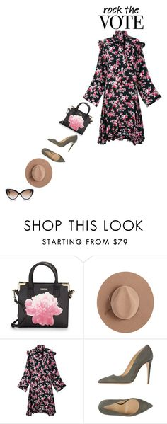 """""""Rock the Vote in Style"""" by piedraandjesus ❤ liked on Polyvore featuring Calvin Klein, Calypso Private Label, Vetements, Armani Collezioni, Cutler and Gross and rockthevote"""