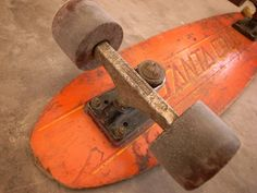 Vintage Santa Cruz skateboard...