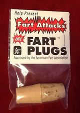 This Fart Plugs Funny White Elephant Party Gag Gift Stocking Stuffer Joke Gas Prank is available for purchase for $6.25 for another 1d 21h