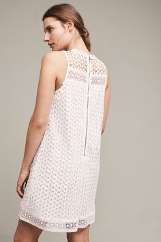 Slide View: 3: Snowscape Lace Swing Dress