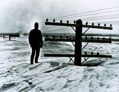 Blizzard. u.p. of Michigan in the 40's I think it was. How many snow days will your job give you?