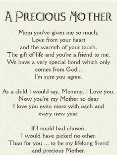. Love You Mom Quotes, Me Quotes, Mom Poems, So Much Love, Bond, I Am Awesome, Give It To Me, Sayings, Life
