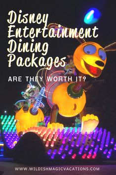 Getting ready to make your Disney World or Disneyland dining reservations? There is one category of dining reservations that I recommend putting at the top of your priority list: Entertainment Dining Packages. Here are the reasons why. Disneyland Dining, Disneyland Vacation, Disney Vacation Planning, Walt Disney World Vacations, Magic Vacations, Disney Travel, Trip Planning, Disney Snacks, Disney Dining Plan