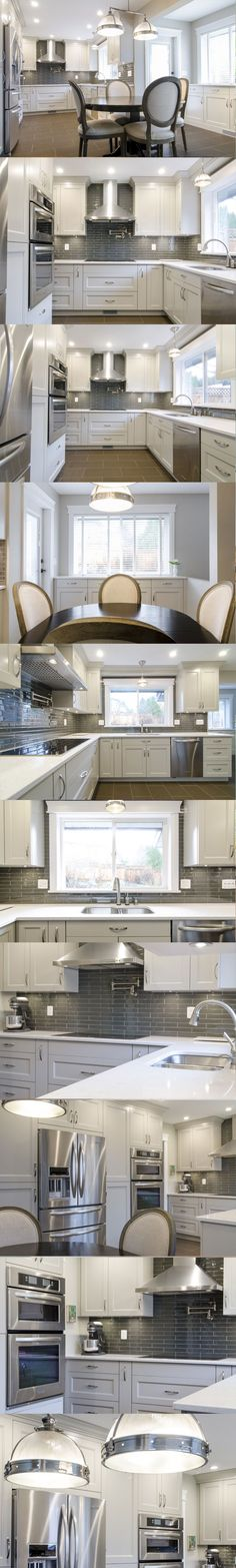 White kitchen - Genesis Kitchens & Design, Coquitlam, British Columbia, Nickels Cabinets