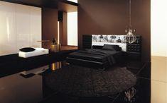 brown modern bedroom
