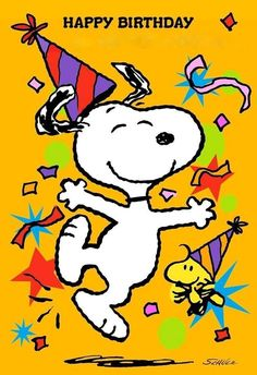 Send happy birthday wishes to a special kid with this birthday greeting from Hallmark. Card features Snoopy and Woodstock sending a birthday wish to a one-of-a-kind kid. No birthday gift is complete without a Hallmark card! Happy Birthday Snoopy Images, Birthday Wishes For Kids, Cute Happy Birthday, Birthday Wishes Funny, Happy Birthday Pictures, Happy Birthday Greetings, Birthday Cartoon, 21 Birthday, Sister Birthday