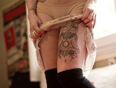 Need to get a thigh tattoo- note to self