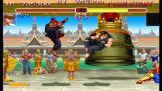 Super Street Fighter II Turbo, released in Japan as Super Street Fighter II X: Grand Master Challenge , is a competitive fighting game released for the arcades by Capcom in 1994. It is the fifth installment in the Street Fighter II sub-series of Street Fighter games, following Super Street Fighter II: The New Challengers.