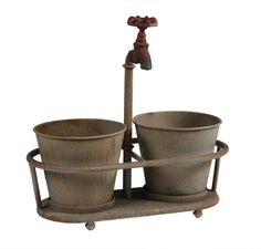 Planter for the utility room