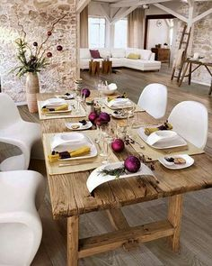 #Salones con #parquet www.decorgreen.es Different for Chrismas