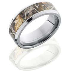 camo wedding rings - Bing Images  If I ever get married I think this would be cool for my husband